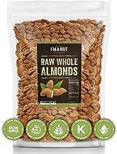 Raw Almond 48oz | Natural | Whole | No PPO | Non-GMO | No Herbicide | Healthy Protein boost | Premium Quality | Try the di...