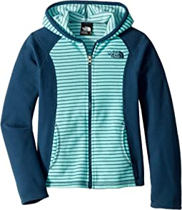 f4c33928e The North Face Kids. Glacier Full Zip Hoodie (Toddler). $39.95. Mint  Blue/Multi Thin Stripe Print