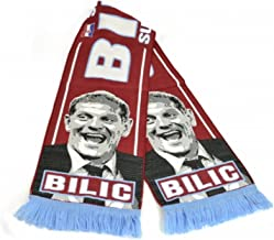West Ham FC Official Slaven Bilic Soccer Manager Scarf