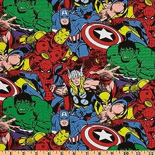 Marvel Comic Pack Multi Fabric