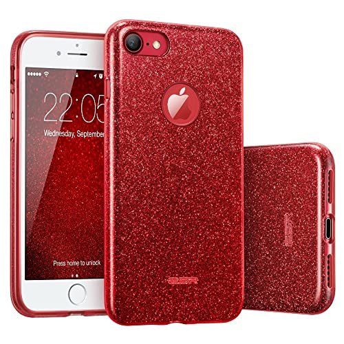 buy online d0ef4 4bd6e Red iPhone 7 Cases: Amazon.co.uk