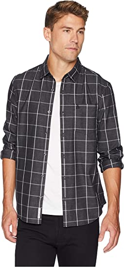 Long Sleeve Jasper Windowpane Shirt