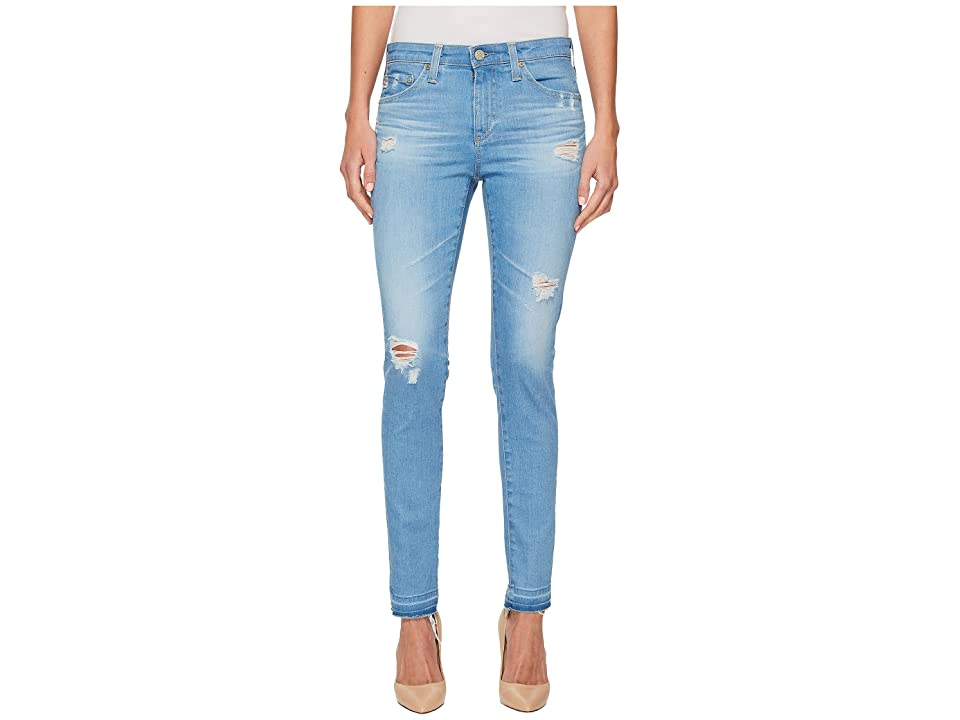 AG Adriano Goldschmied Leggings Ankle in 20 Years Freshwater Destructed (20 Years Freshwater Destructed) Women's Jeans