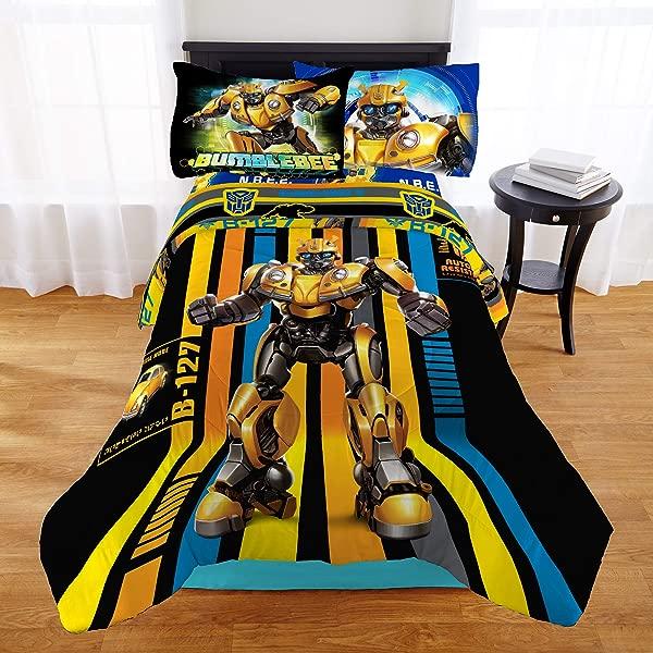Transformers Bumblebee Boys Twin Comforter Sheet Set 4 Piece Bed In A Bag Homemade Wax Melts