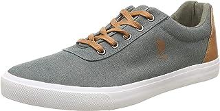 US Polo Association Men's Olive Sneakers-7 UK/India (41 EU) (2531825074)