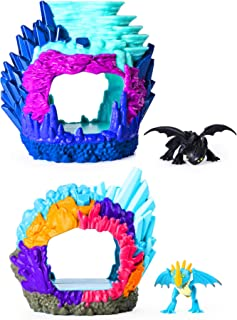 Dreamworks Dragons Hidden World Playset 2 Pack (Toothless, Stormfly)