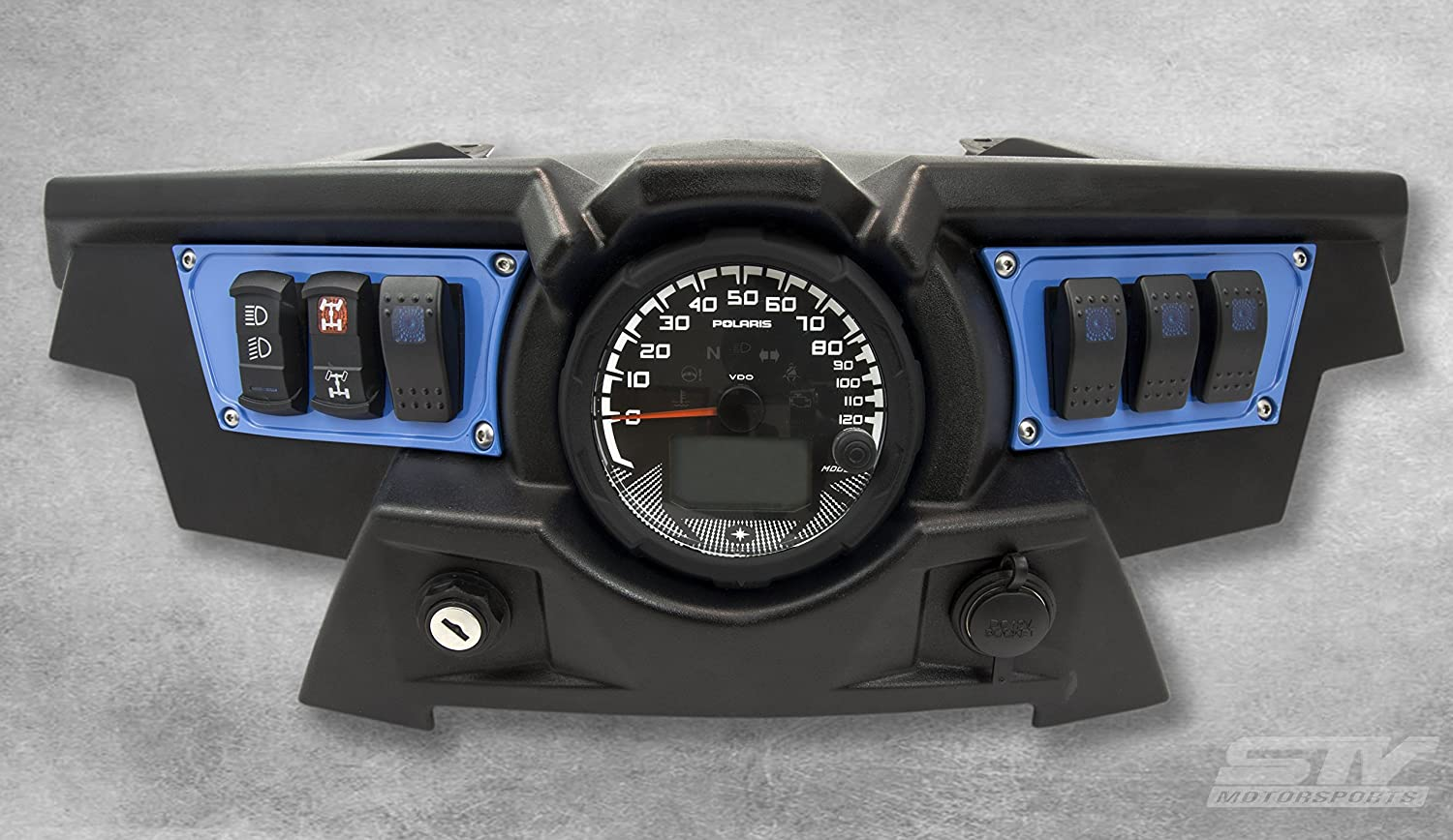 STVMotorsports Custom Inventory cleanup selling sale Aluminum Blue Dash 2015-2018 Pol Bombing new work Panel for