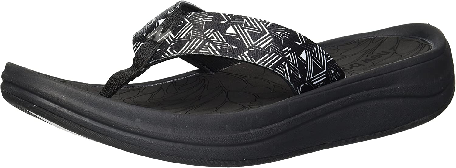 New Balance Womens Women's Revive Sport Thong Flip-Flop