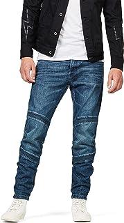 [G-Star RAW ジースターロゥ] メンズ ジーンズ スリム バイカースタイル 立体裁断 Motac 3D Slim Jeans