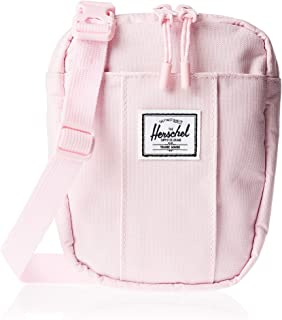 Herschel Cruz Unisex Cross body Bag, Pink Lady Crosshatch