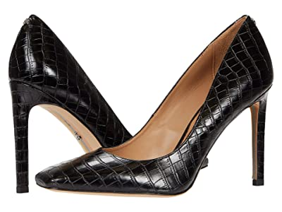 Sam Edelman Beth (Black Lucea Dress Croco Leather) Women