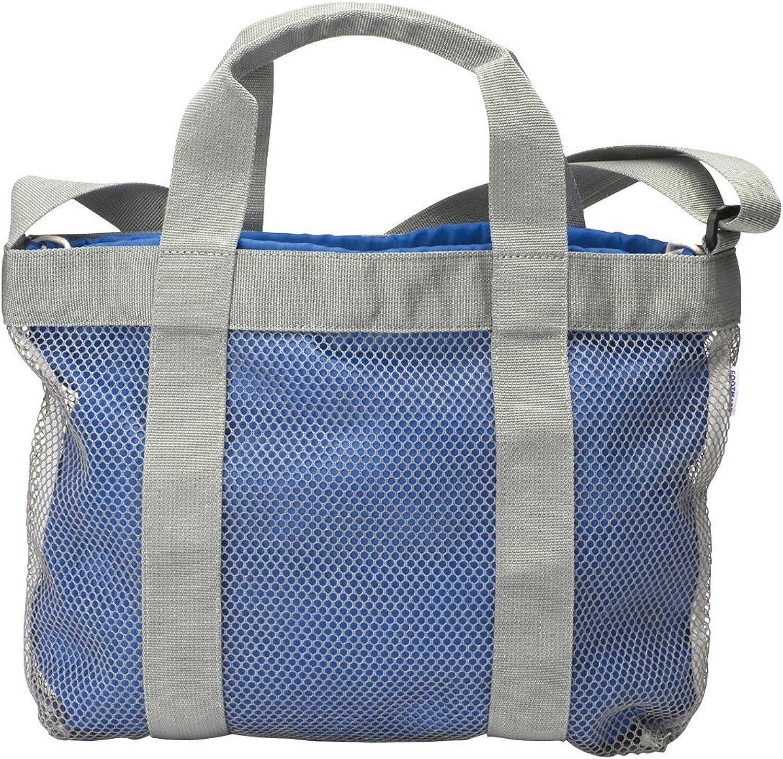 FOOTMARK (foot mark) pool bag Swim Tote Bag 101350 bluee for swimming (10)