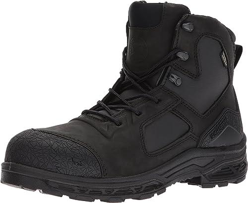 Irish Setter Work Men's Kasota 6  Waterproof Safety Toe Work Stiefel, schwarz, 11.5 2E US