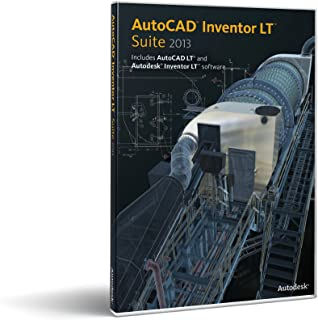 AutoCAD Inventor LT Suite 2013  -- Includes a 1-Year Autodesk Subscription [Old Version]