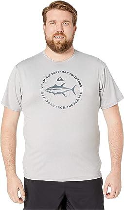 Watermark Short Sleeve Rashguard