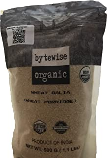 Bytewise Organic Wheat Dalia / Broken Wheat, 500 Gm