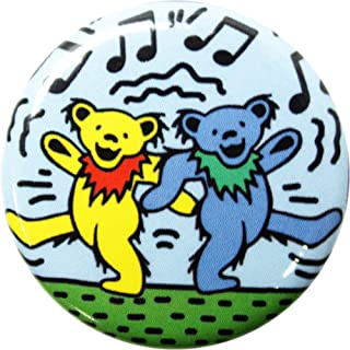 "Grateful Dead - Bears Dancing To Music - 1.25"" Round Button"