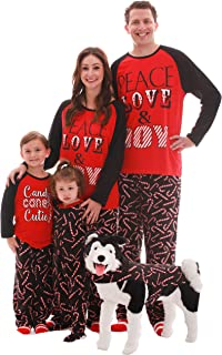#followme Matching Christmas Pajamas for Couples, Dog and Owner