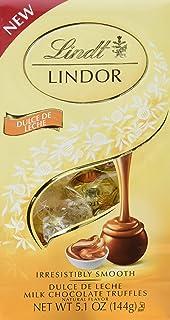 Lindt LINDOR Dulce de Leche Milk Chocolate Truffles, Milk Chocolate Candy with Smooth, Melting Truffle Center, 5.1 oz. Bag...