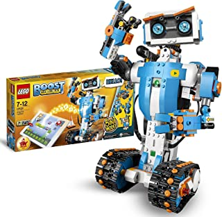 LEGO 17101 Boost Creative Toolbox Robotics Kit, 5 in 1 App Controlled Building Model with Programmable Interactive Robot T...