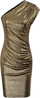 bronze color dress