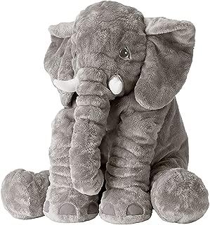 IKEA Soft Toy, Elephant, Gray, 23.5 Inch, Large Stuffed Animal Plush, JATTESTOR 303.735.93