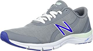 New Balance Women's 711v3 Cross-Trainer-Shoes, Steel/Blue Iris, 10 B US