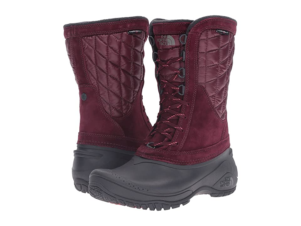 The North Face ThermoBall Utility Mid (Deep Garnet Red/Calypso Coral (Prior Season)) Women
