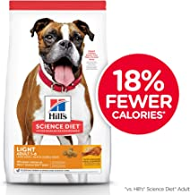 Hill's Science Diet Dry Dog Food, Adult, Light for Weight Management, Chicken Meal & Barley Recipe