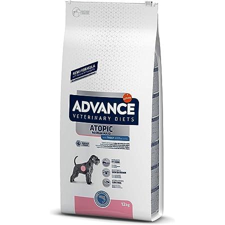 ADVANCE Veterinary Diets Atopic Care Medium/Maxi - Pienso Para Perros Adultos Con Problemas Atópicos De Razas Medianas y Grandes Con Trucha - 12 kg