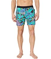 Classic Swim Shorts with Summer All Over Print