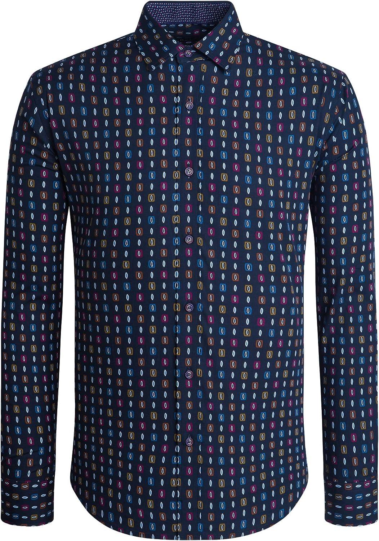 Bugatchi Men's Classic Fashion Shirt