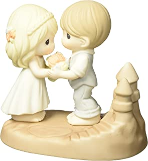 Precious Moments Wedding Gifts Loving You Is A Dream Come True Bisque Porcelain Figurine 163009
