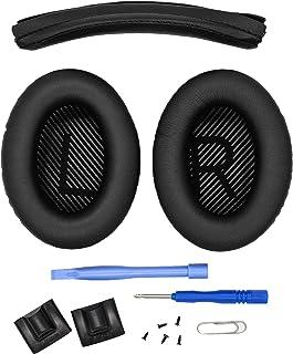Ear Pads and Headband Cushion pad for Bose QuietComfort 35 (QC35) and QuietComfort 35 II (QC35 II) Headphones - The Headba...