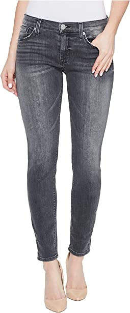 Hudson - Nico Mid-Rise Ankle Super Skinny Five-Pocket Jeans in Spectrum