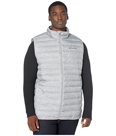 Columbia Big Tall Lake 22tm Down Vest (Columbia Grey Heather Print) Men