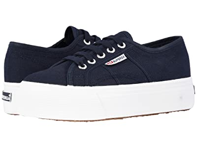 Superga 2790 Acotw Platform Sneaker (Navy) Women