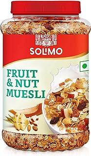 Amazon brand - Solimo Fruit and Nut Muesli, 1kg