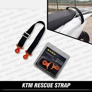 Kungfu Graphics Rear Adjustable Tugger Strap for Dirt Bike Motocross Enduro Supercross 2014 2015 2016 2017 2018 2019 KTM SX XC F EXC EXC-F XC-W XCFW, Orange