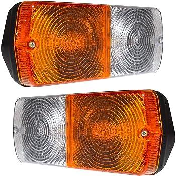 11001602 Hinten Schwanz Blinker Lampen Licht Set Links /& Rechts Massey Ferguson Mf 275,Mf 398 und andere Traktoren Bajato