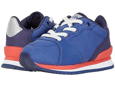 Native Kids Shoes Dartmouth (Toddler/Little Kid) (Piedmont Blue/Shell White/Princess Pink/Dublin Rubber) Girl