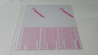 """Online Metal Supply Polycarbonate Sheet 1/4"""" x 24"""" x 36"""" - Clear"""