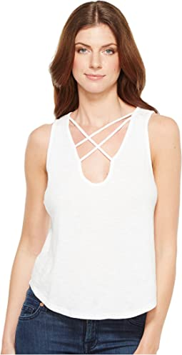 Triple Cross Tank Top
