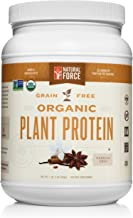 Organic Plant Protein – Vanilla Chai, Best Tasting Vegan Protein Powder* - Complete Plant Based Protein, Delicious in Shakes and Smoothies, Gluten Free, Non-GMO by Natural Force, 15.24 Ounce