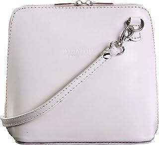 db2882518423 Primo Sacchi Genuine Italian Leather, Small Shoulder Bag Handbag. Includes  Branded a Protective Storage