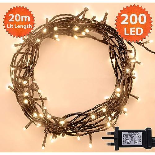 Outdoor Tree Christmas Lights Amazon Co Uk