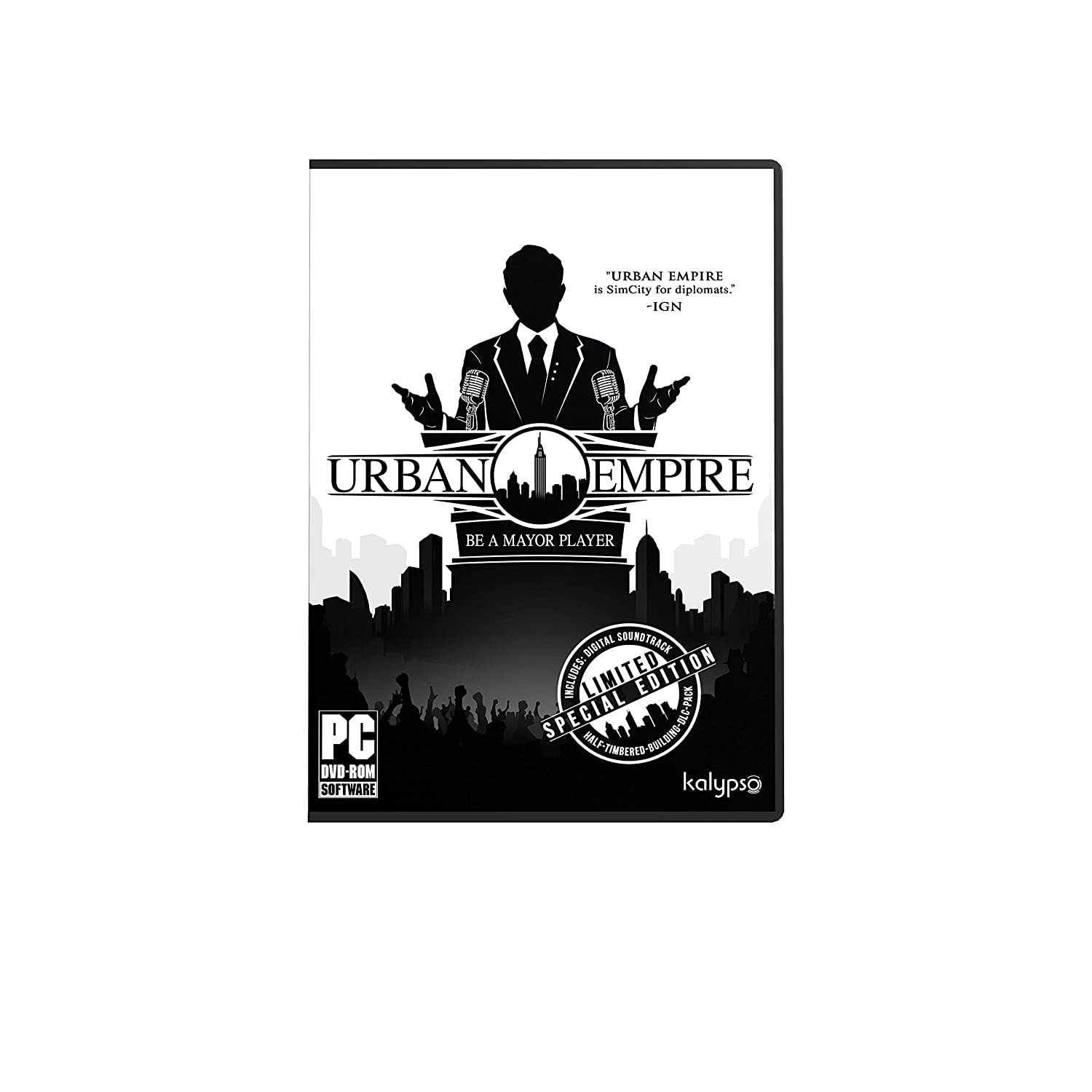 Urban Empire Special Limited Clearance SALE! Limited time! Edition for Player Major Be a PC; Indefinitely