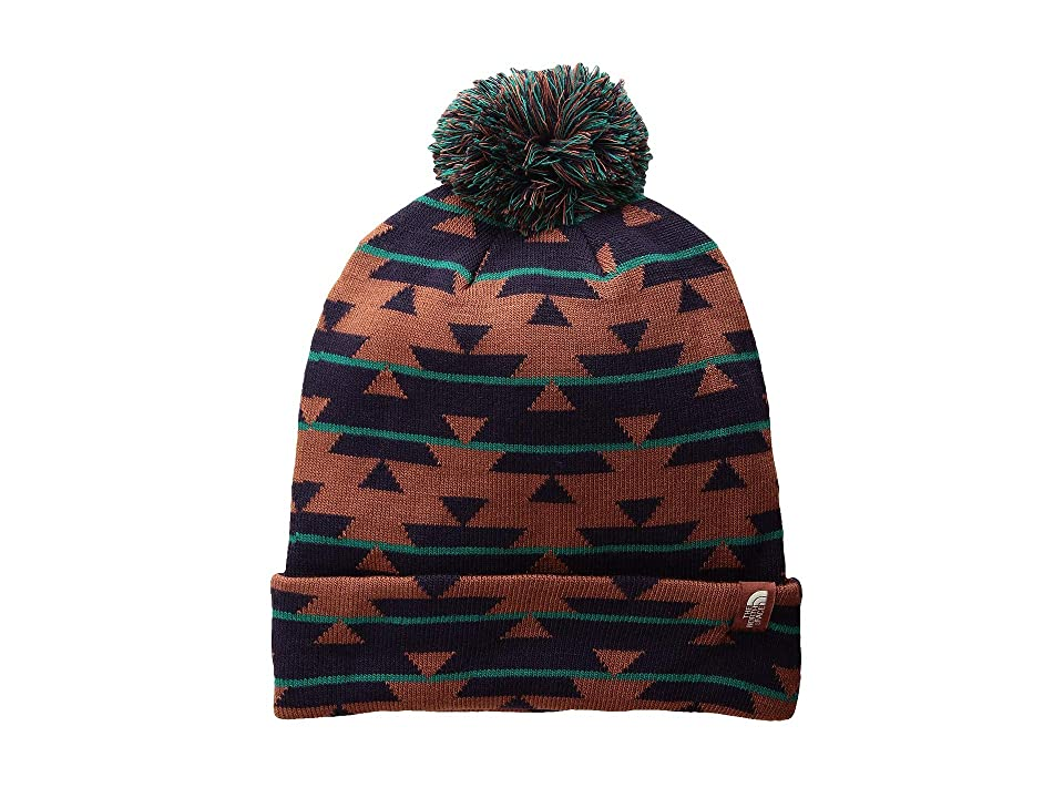 The North Face Ski Tuke V (Henna Basketweave Jacquard) Beanies