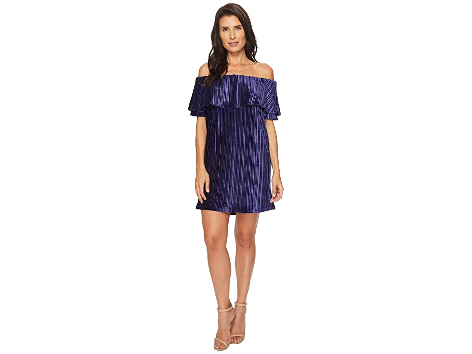 Sanctuary Zodiac Off Shoulder Dress (Nocturne) Women