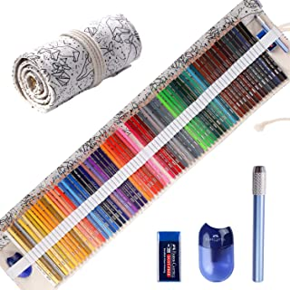 Colored Pencils for Adult Coloring Books, Premium Artist Colored Pencil Set (72-Count),..